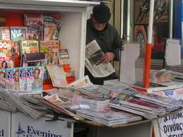 kiosko de periódicos